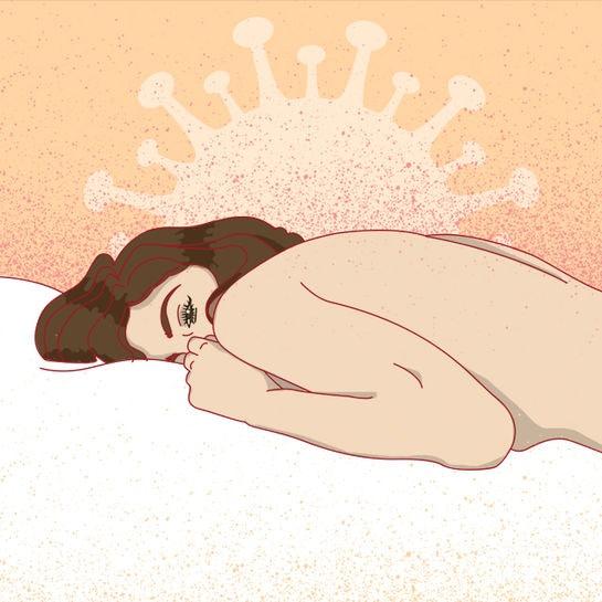 sexkolumne corona hornyness cover
