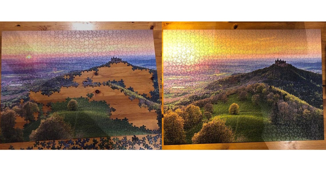 corona hobbies puzzle