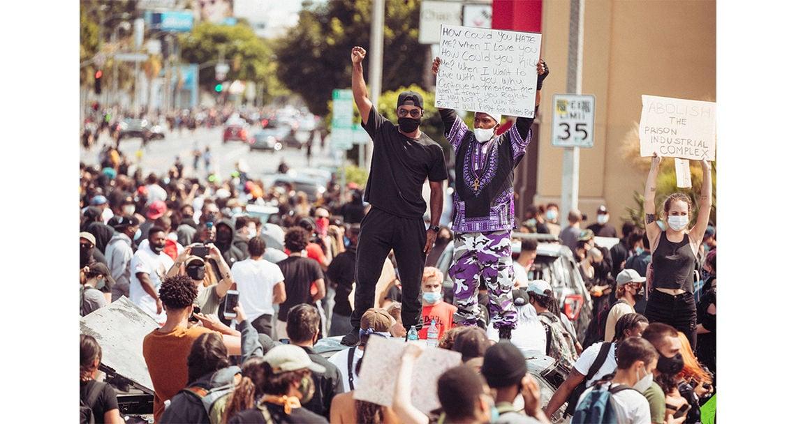 fotos proteste chris laxamana galerie gfloyd 0411
