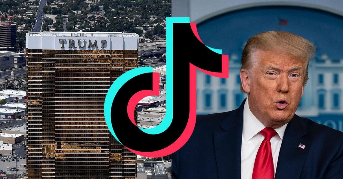 Tiktok-Nutzer*innen geben Trumps Unternehmen 1-Stern-Reviews