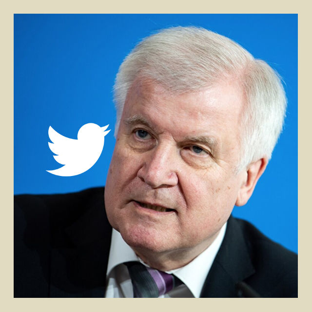 buzz seehofer twitter