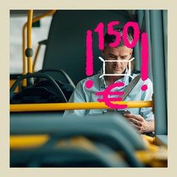 buzz busfahren maske