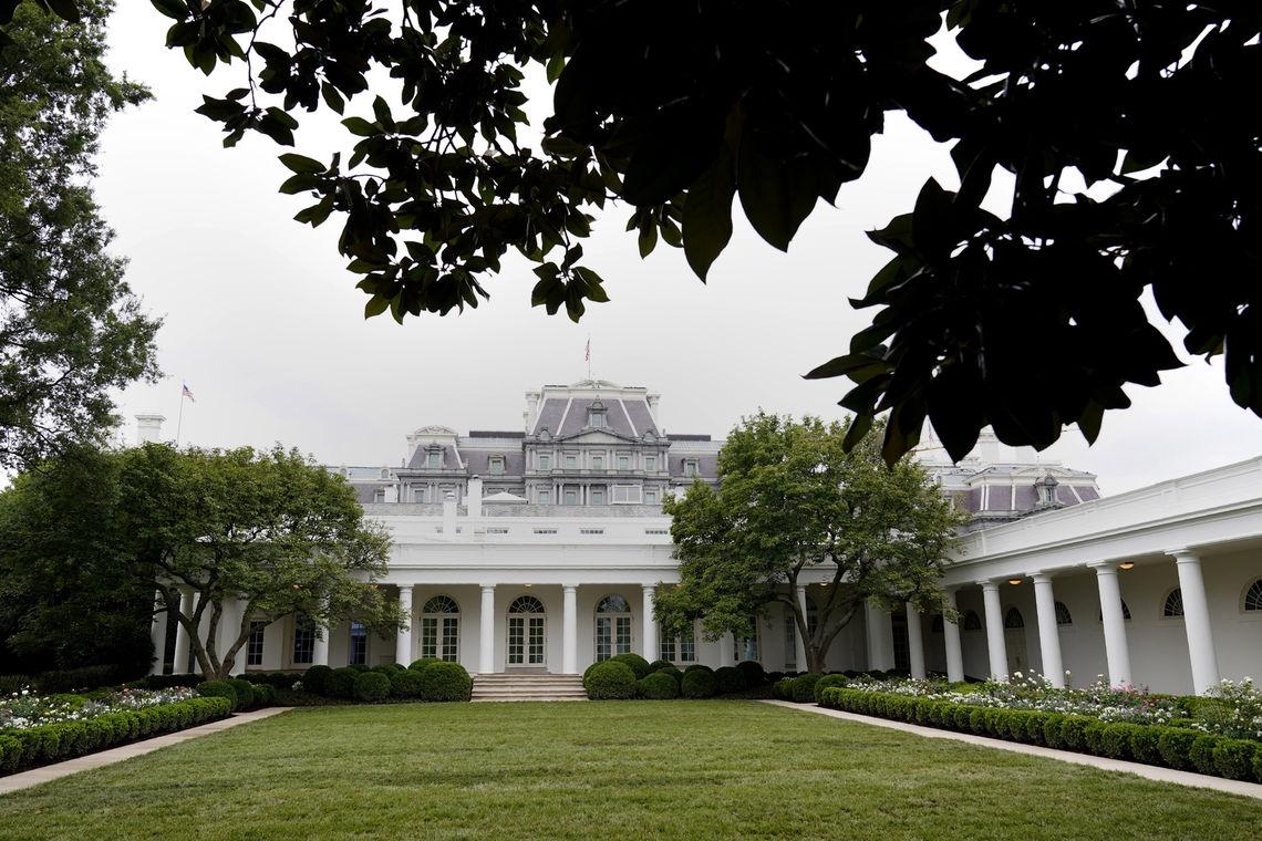 white house garten