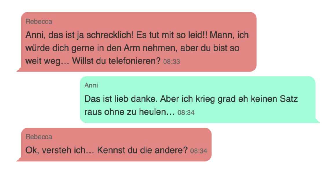 Liebeskummer whatsapp chats WhatsApp Chat