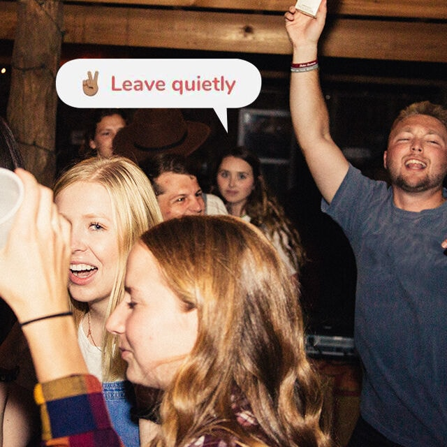 leave quietly cover