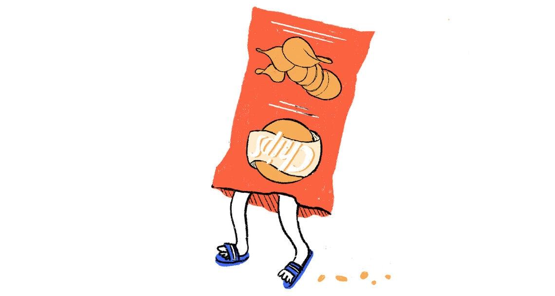 typologie nacht snacks 4 chips