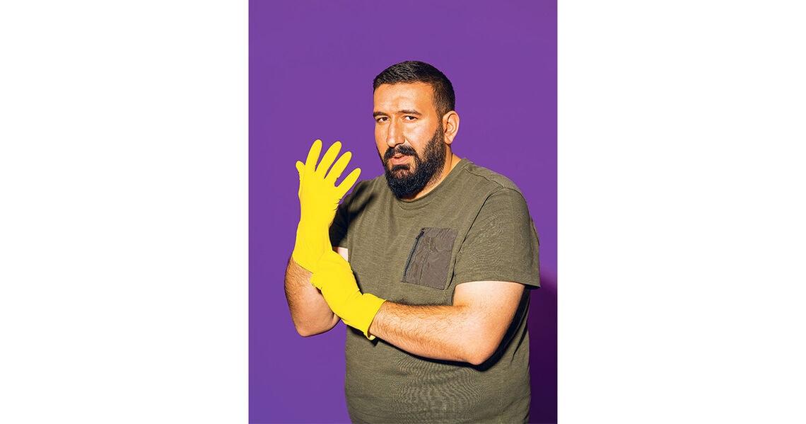 Ulaş ist Reinigugnskraft und wünscht sich mehr Wertschätzung für seinen Job.