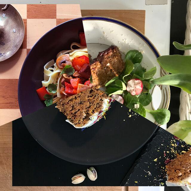 veganer osten menu