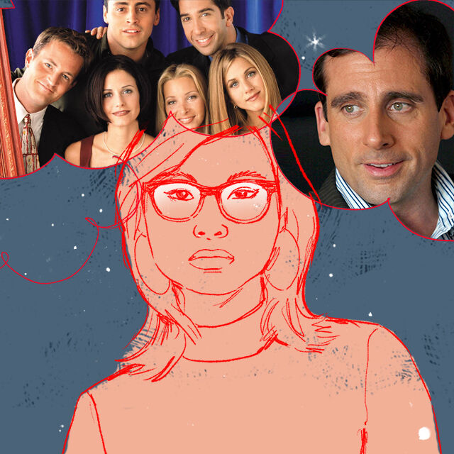 the female gaze friends the office cover
